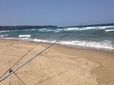 鳥取釣り 投げ釣り
