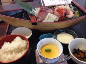 海鮮市場かろいち食堂 刺身定食 船盛