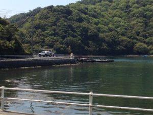 徳島県堂の浦釣り ウチノ海 サヨリ釣り 筏釣り 船着き場