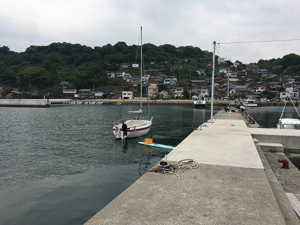 和歌山 塩津漁港 豆アジ釣り