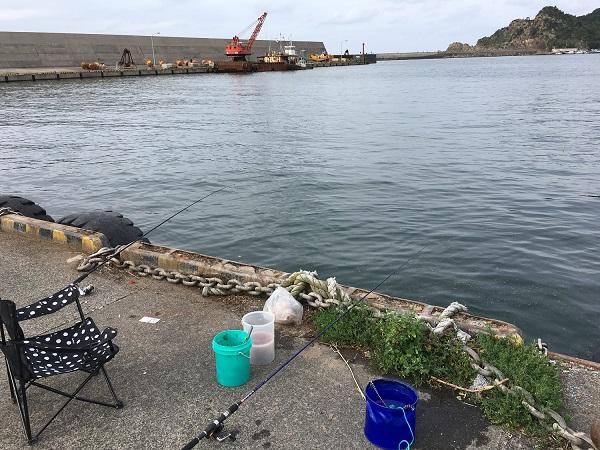 鳥取釣行 鳥取港耐震岸壁 網代港 サビキ釣り のませ釣り アジ釣り サヨリ釣り