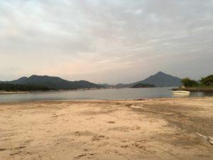 和田港沖 アオリイカ釣り ボート釣り ジギング