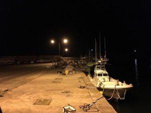 酒津漁港 アジ釣り サビキ釣り