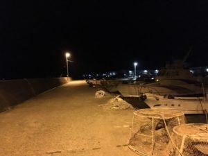 香住西港 夜釣り フィッシング ガシラ釣り