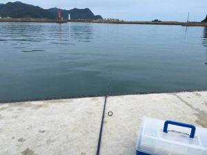 香住西港 釣り キス釣り ツバス (3)