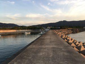 湯浅広川町漁港 和歌山釣り アジ のませ釣り ジギング